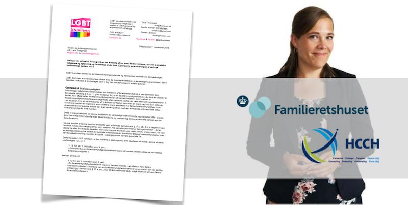 Inkludere regnbuefamilier og forbedre transpersoners navneskifte