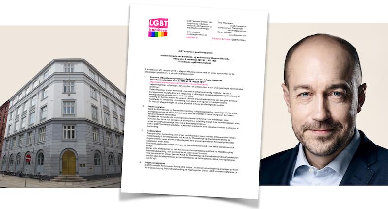 LGBTI sundhedspolitik positionspapir sundhedsministerens rundbordsmøde