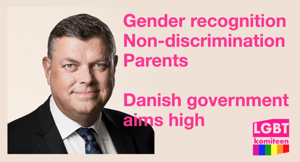 Danish government launches historic legislation initiatives