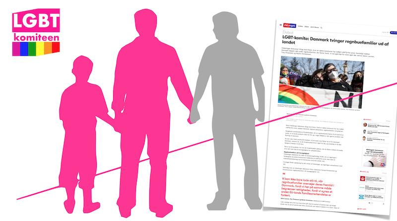 Danmark tvinger regnbuefamilier ud af landet