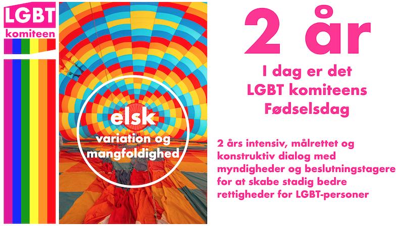 LGBT-komiteen fylder 2 år